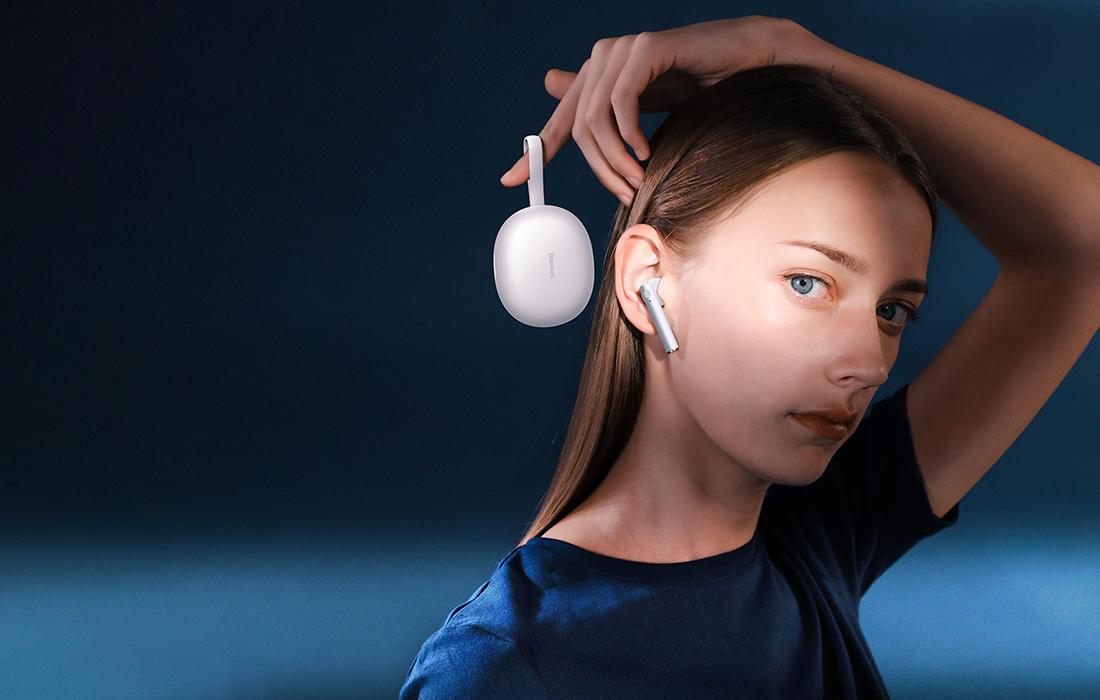 Baseus NGW05-02 Encok True Wireless Earphones W05 White 5