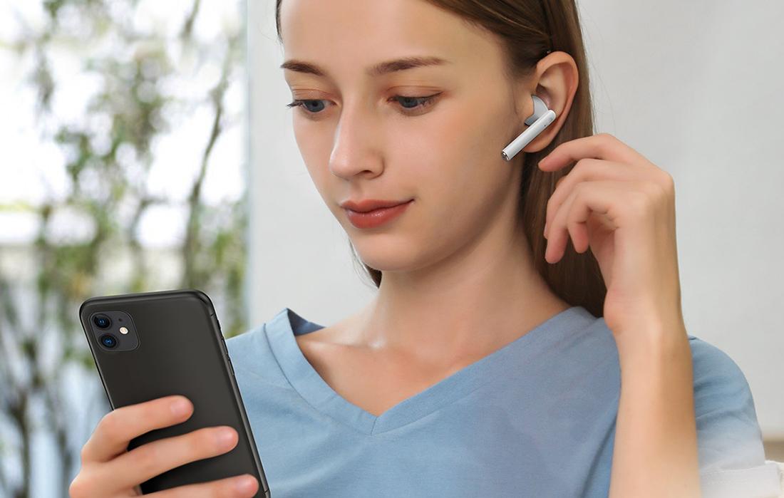 Baseus NGW05-02 Encok True Wireless Earphones W05 White 7