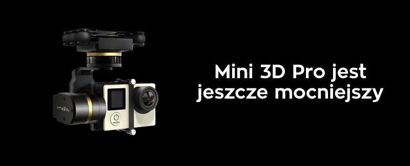 Stabilizator Gimbal Dla Quadrocopterów Feiyu-Tech Mini 3D Pro
