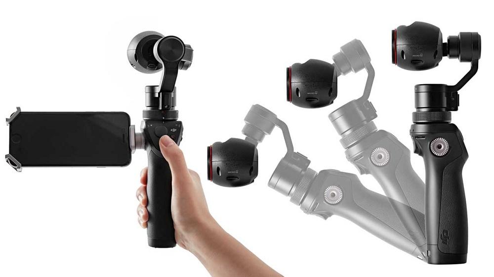 DJI Osmo gimbal z kamerą 4K