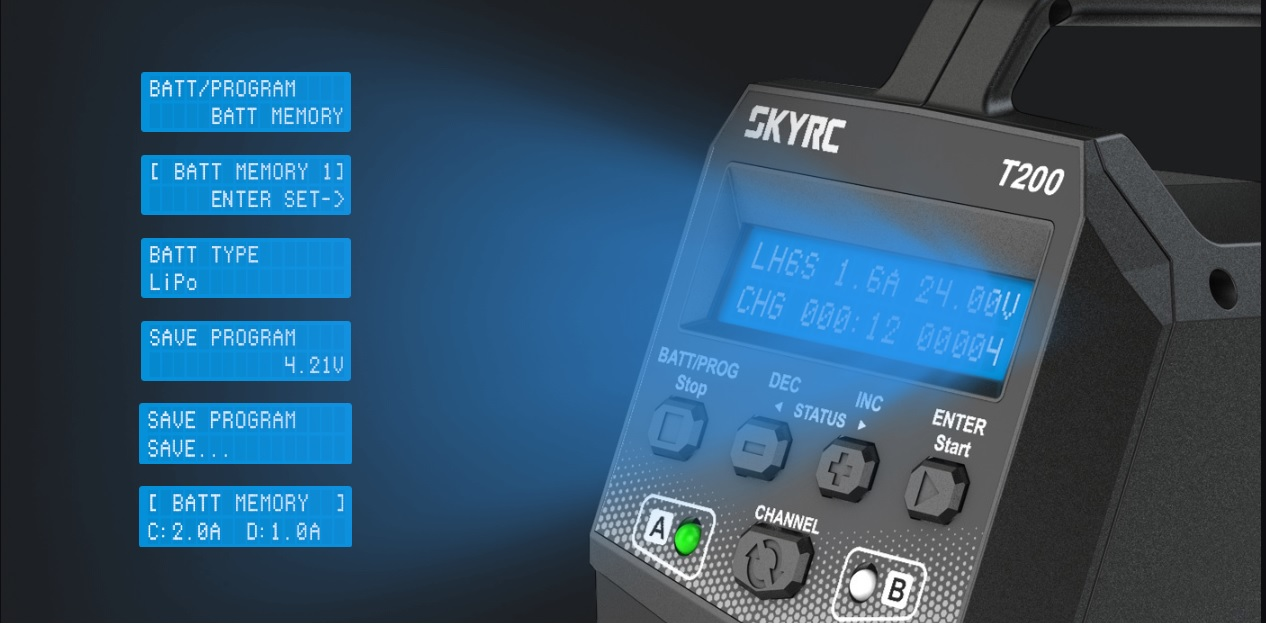 SkyRC T200 2 x 100W ikroviklis