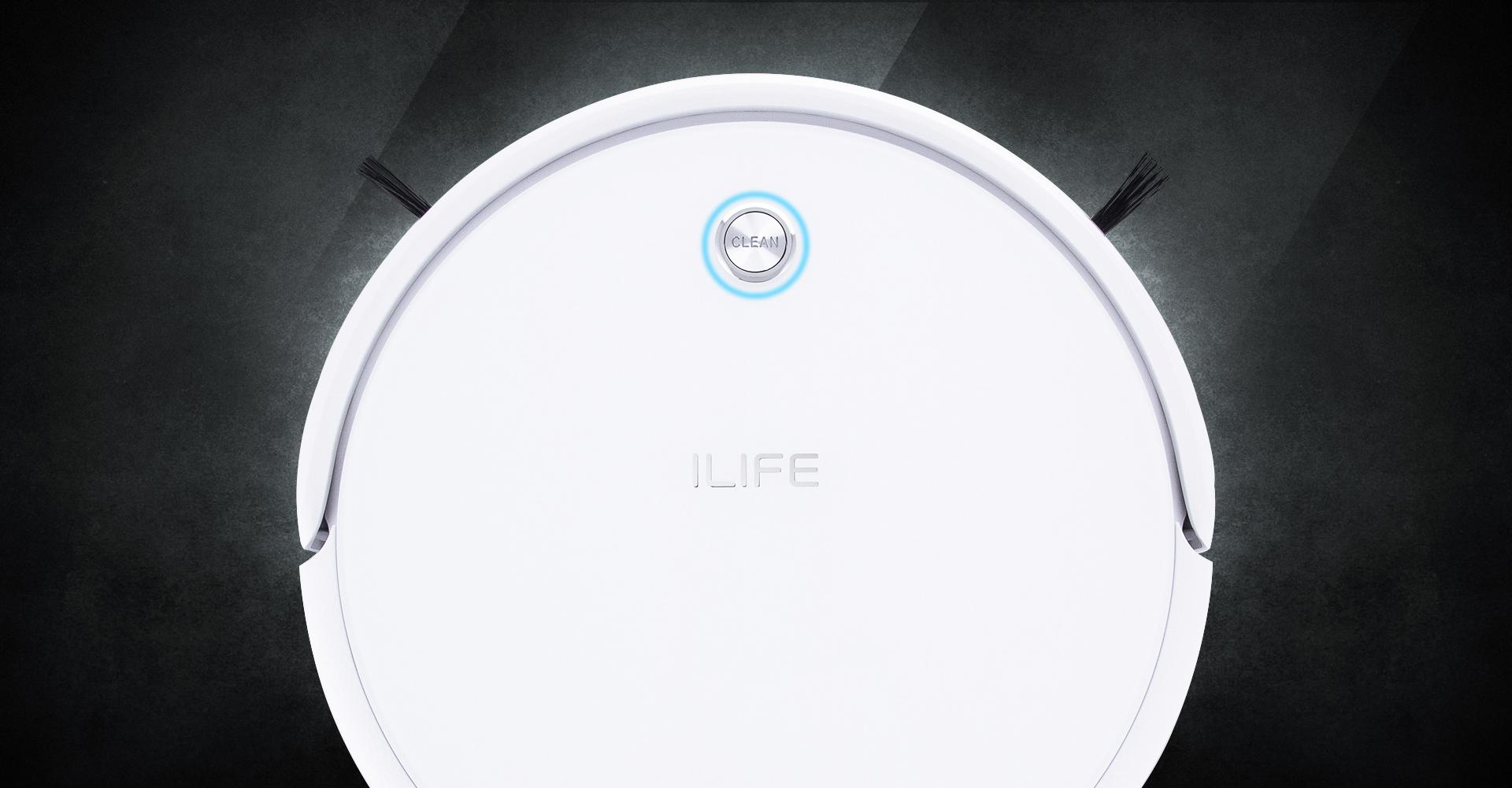 Robotas dulkiu siurblys iLife A40