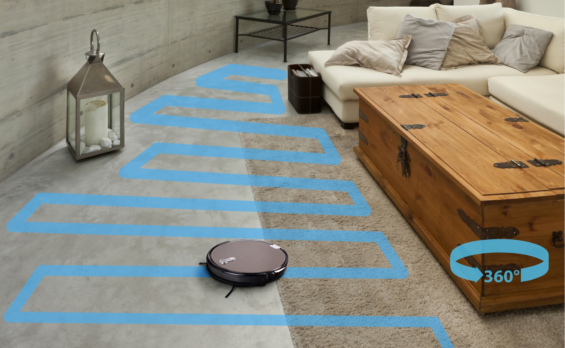Robotas - dulkiu siurblys iLife A8