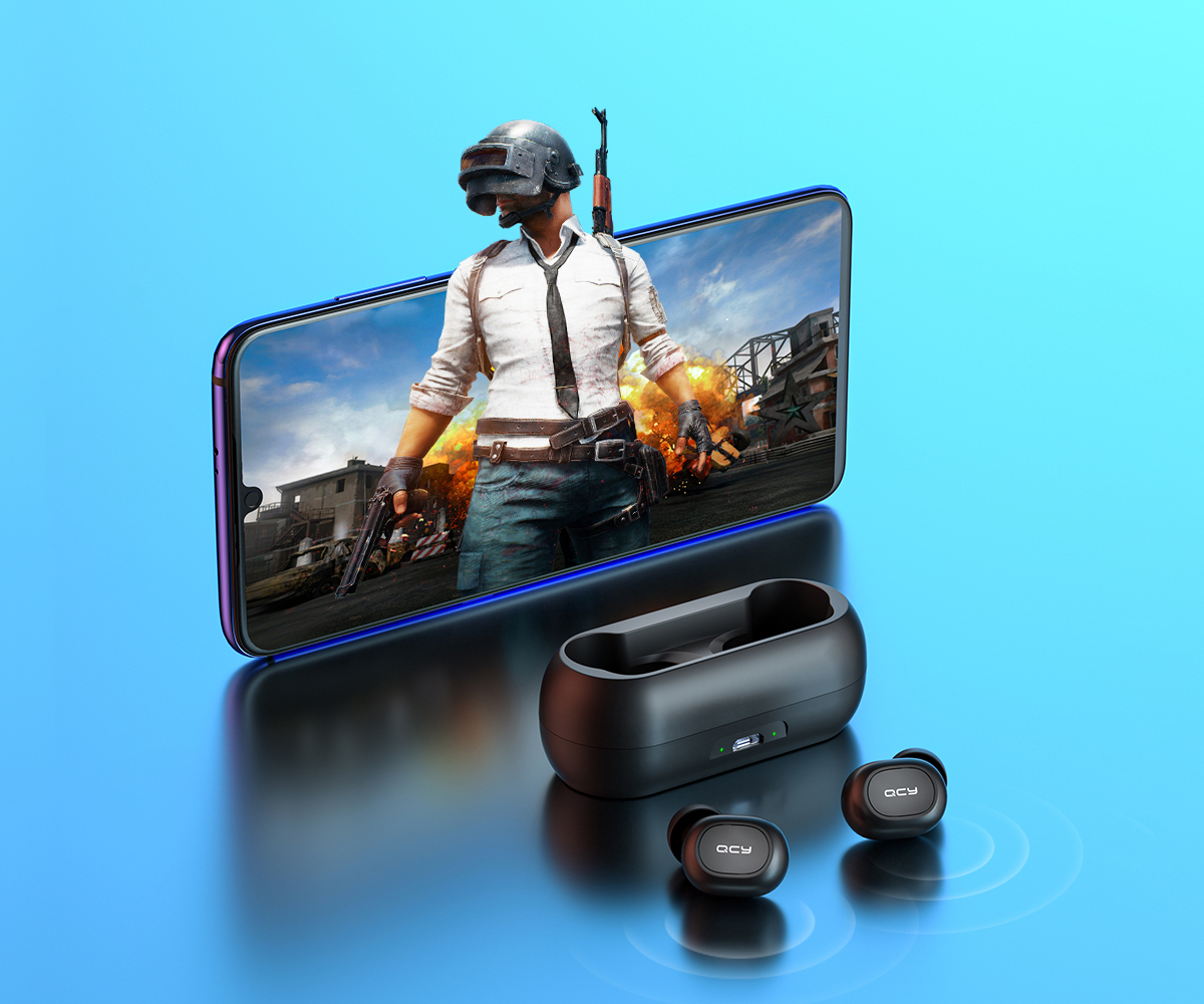 SmartZone.bg Безжични слушалки QCY T1C TWS Bluetooth 5.0