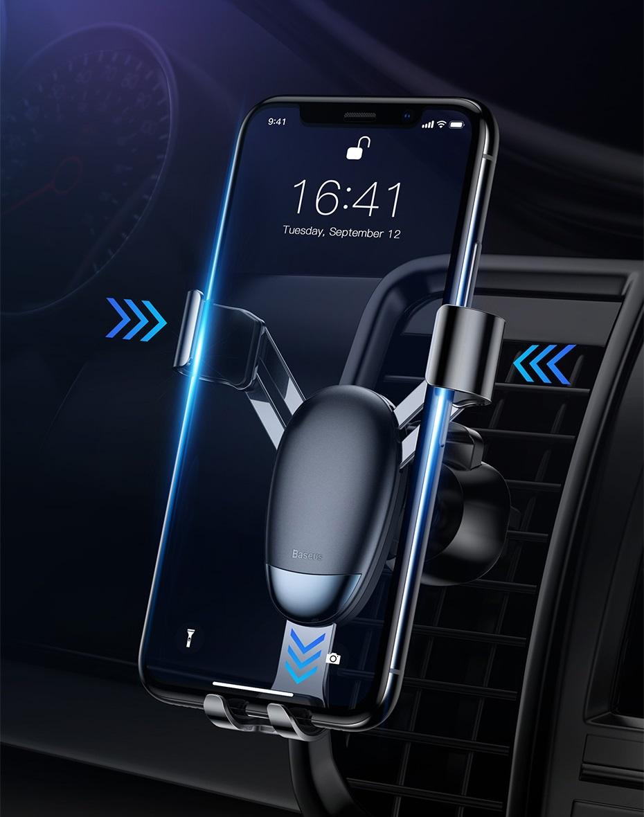 SmartZone.bg Алуминиева стойка за кола Baseus