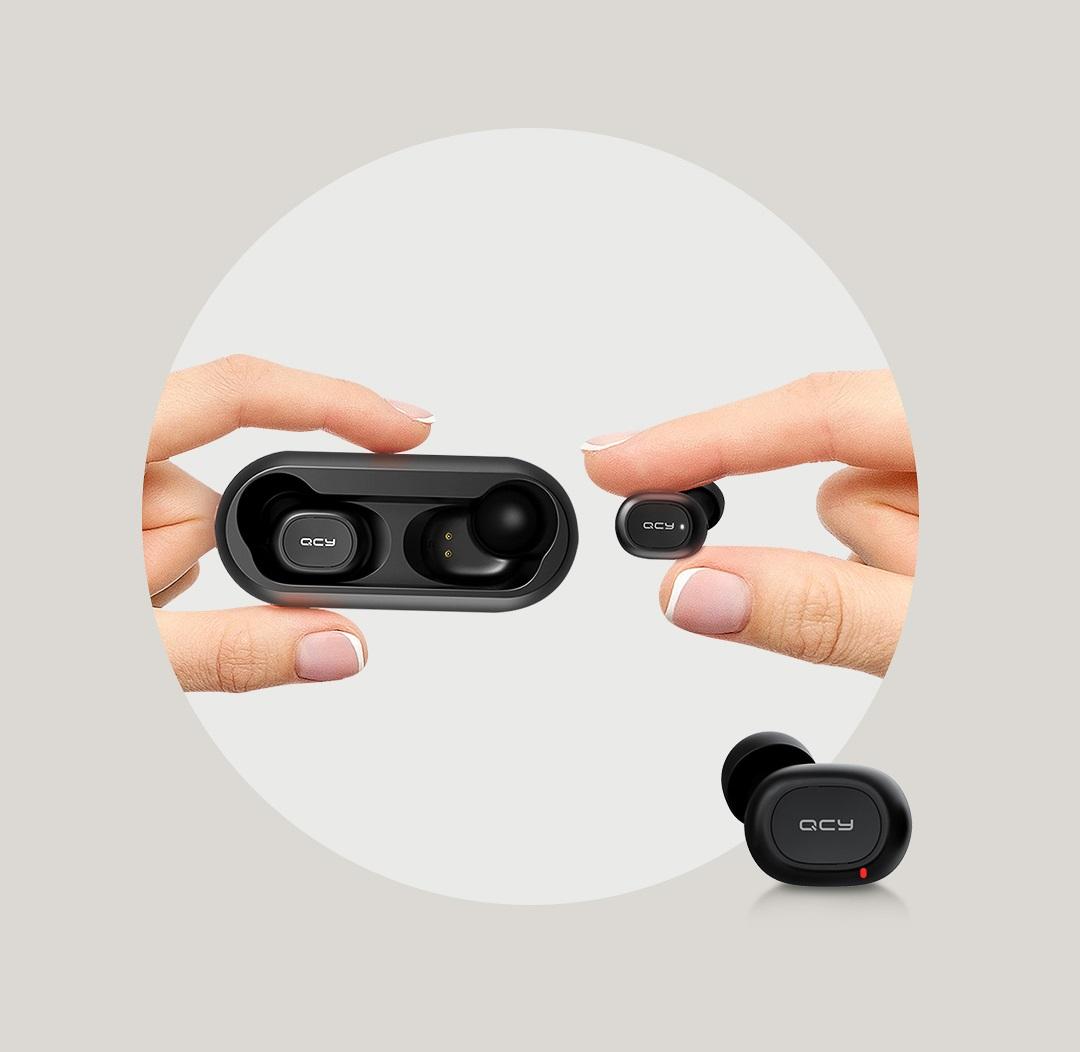 SmartZone.bg Безжични слушалки QCY T1