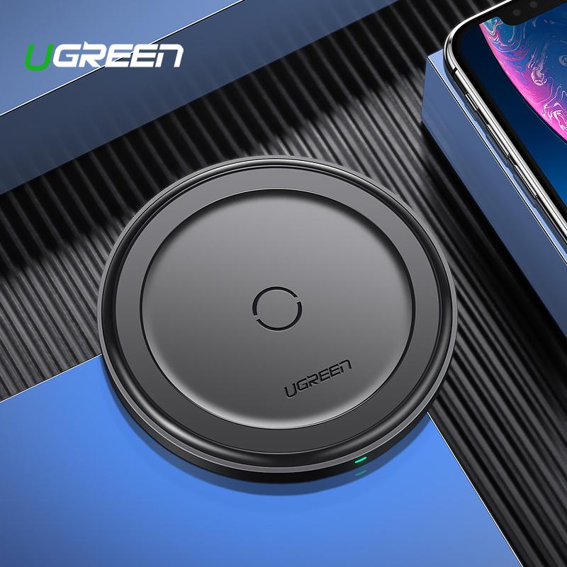 SmartZone.bg Безжично зарядно Qi UGREEN 10W (черно)