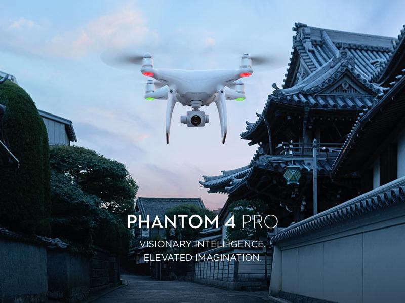DJI Phantom 4 PRO+ z tabletem