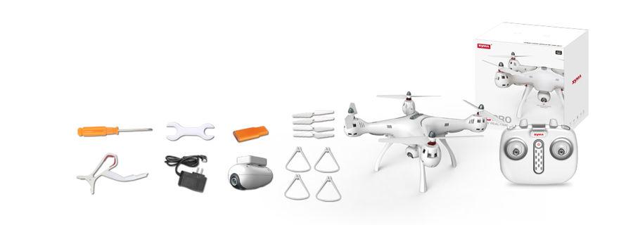 zestaw dron syma x8pro gps