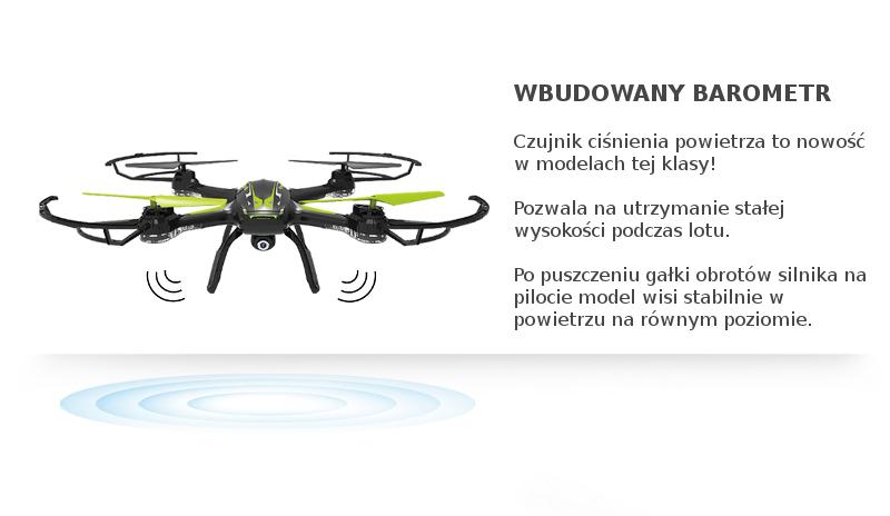 Dron Syma X54HW z barometrem