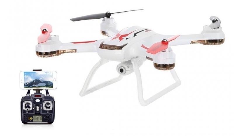Dron Syma X54HW z kamerą i podglądem - biały