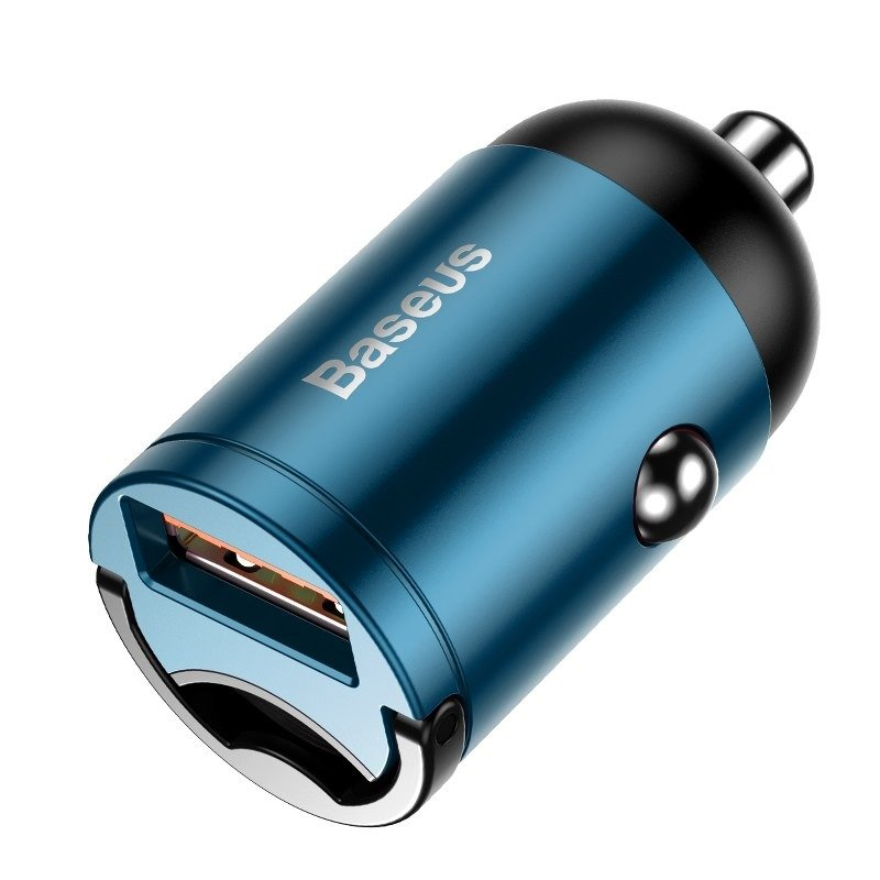 Mini ładowarka samochodowa Baseus Tiny Star, USB, QC 3.0
