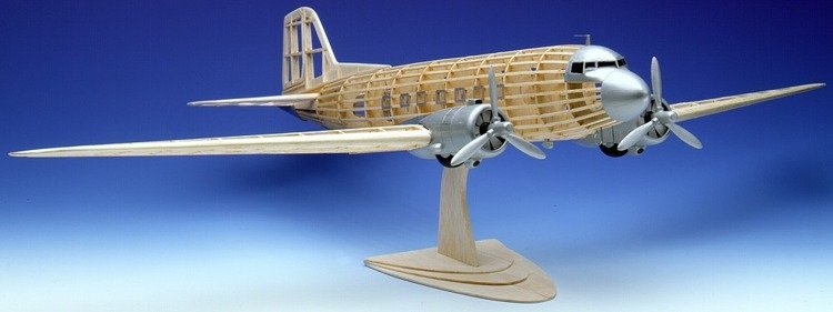 Douglas Dakota Modell Build